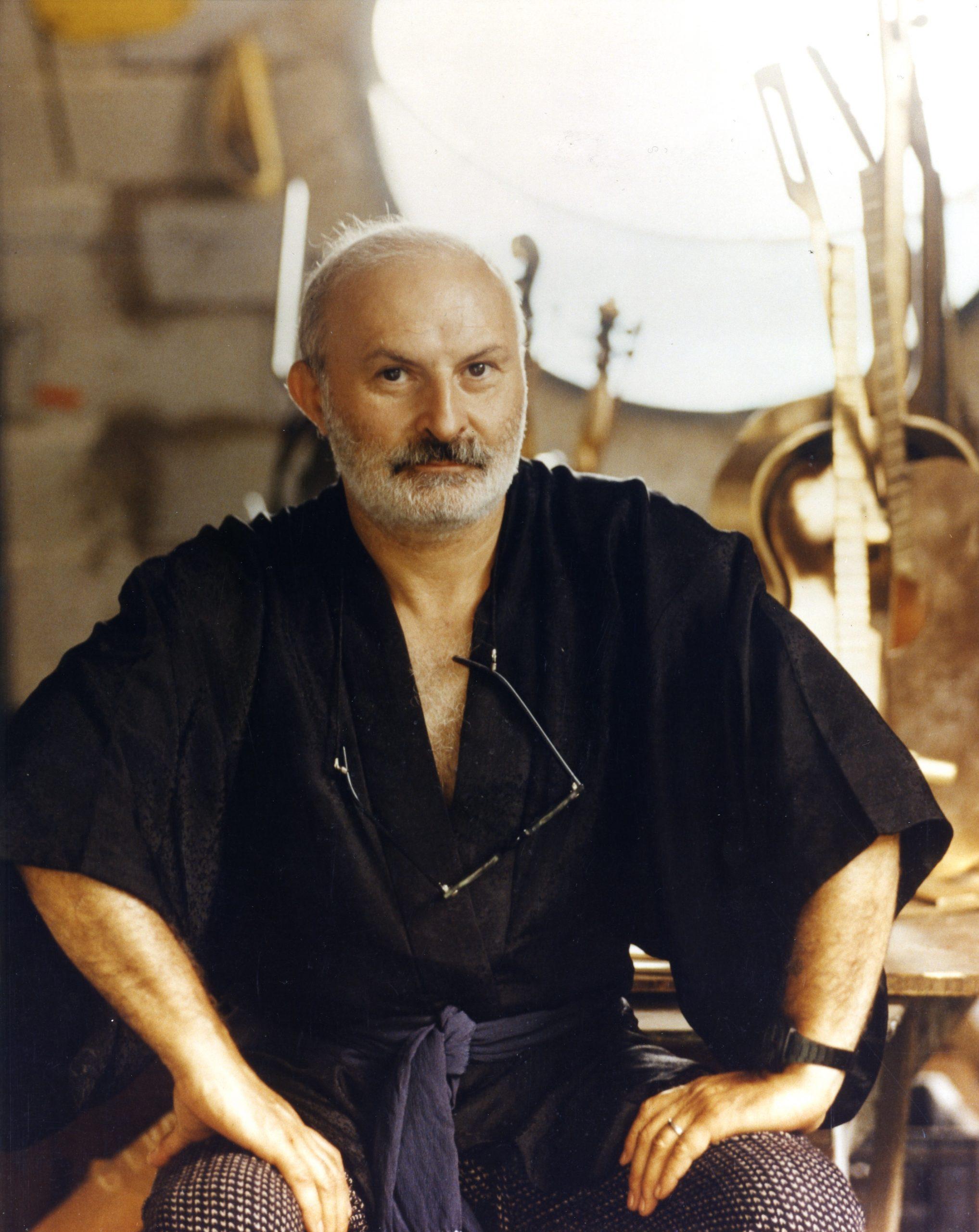 Arman Portrait 1984 c. Adam Inezedy