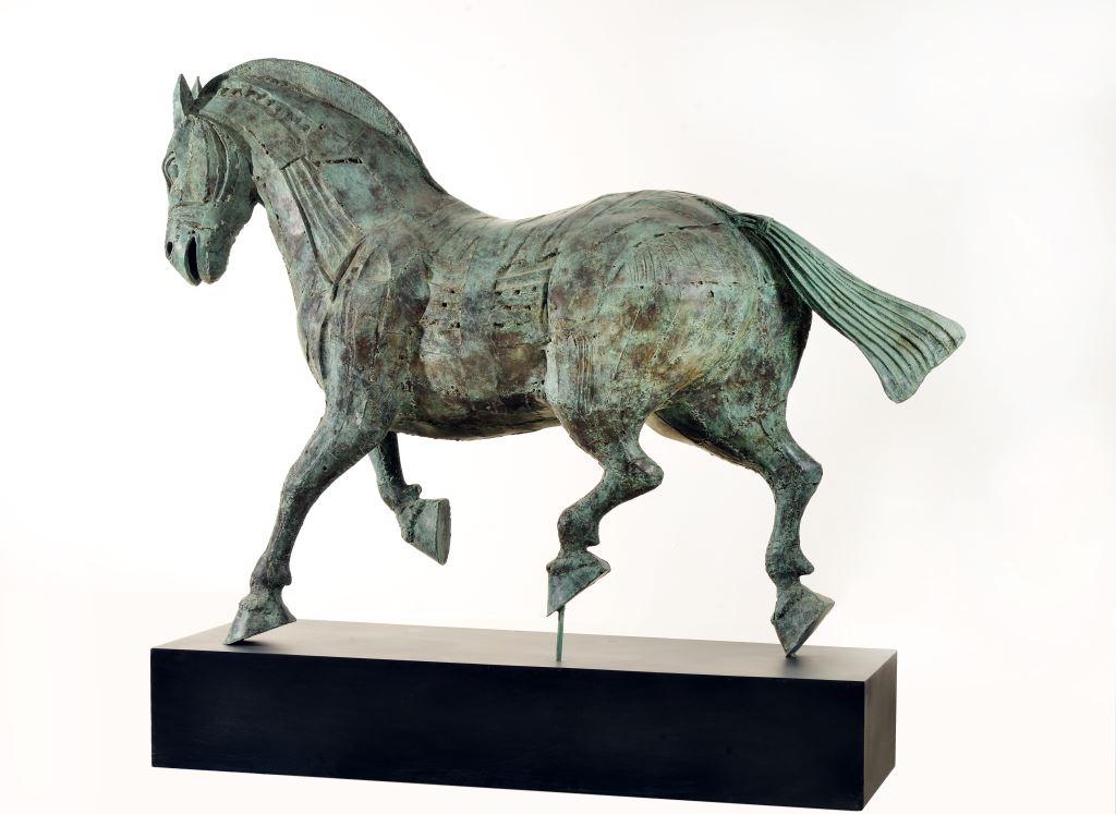 Version sobre un caballo de tropa Mongol 05