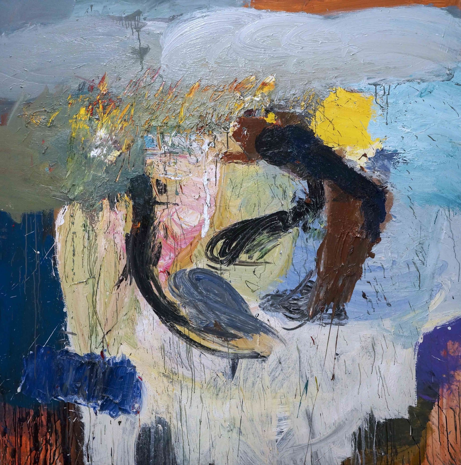Reynier Ferrer Guarijo, 2017 Mixed media on canvas 183 x 183 cm | 12 x 72 in.